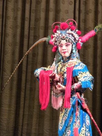 A Beijing Opera performer
