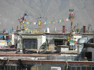 Lhasa's main square