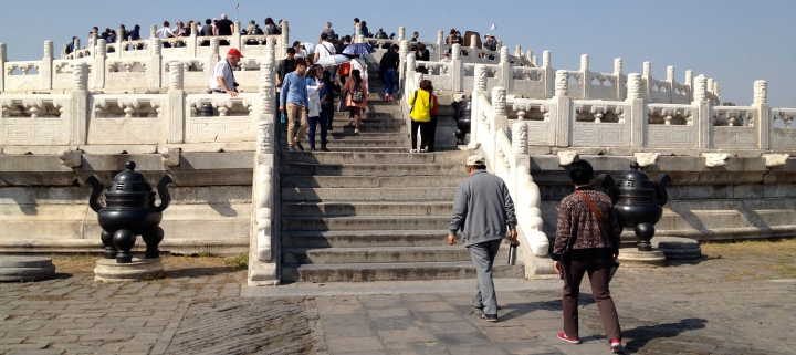 The Circular Mound Altar at the Temple of Heaven