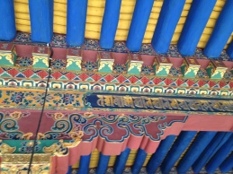 Some of the decoration of the Jokhang Temple