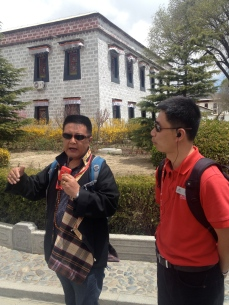 Our guides, Wang Dui and Matthew