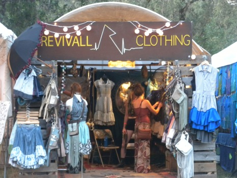 Along with music, the festival offers plenty of shopping opportunities.