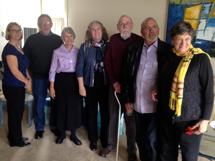 Eight Tuttle cousins, in ascending order of age: Anne, Mark, Nancy, Robin, David, Donny, and Carol