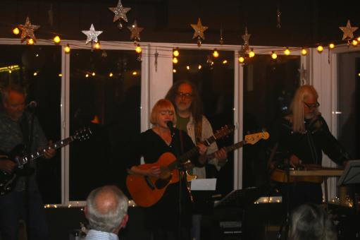 The Joann Quintana Band performing at a Langley winery