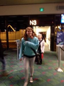 Sophia and Annika arrive in Seattle.
