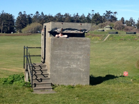 Sophia is a watchtower at Fort Casey State Park.