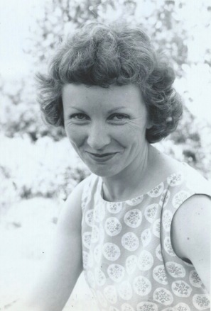 Photo of Robins's mother from the book we gave her