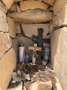 A roadside shrine