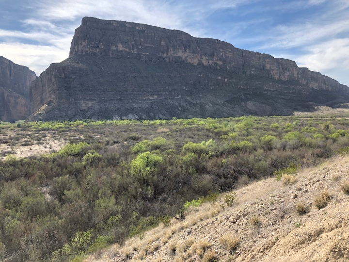 With cliffs like these rising 1,500 feet or more on the Mexican side, so we really need a wall?