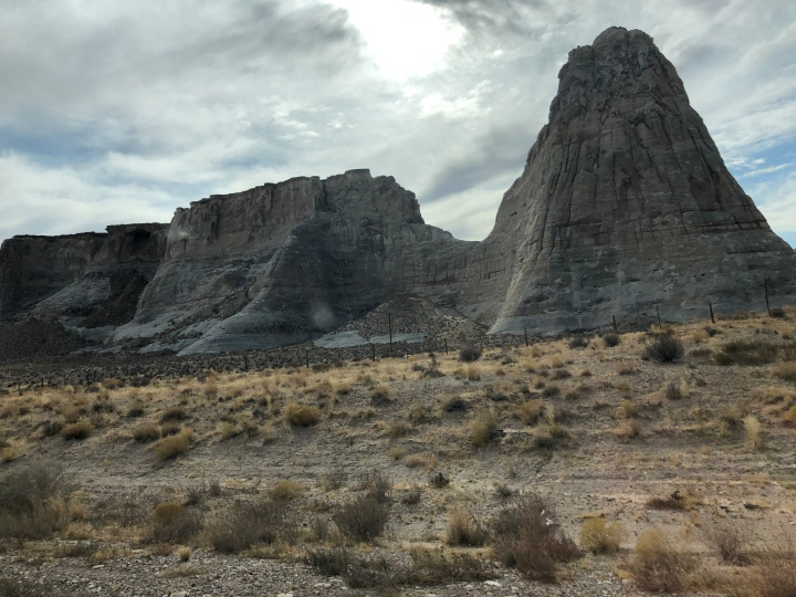 Our drive to New Mexico took us past some more of Utah's wonderful rock formations.